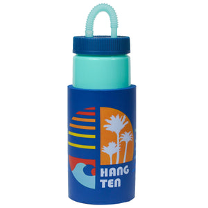 Aqua / Hang Ten Classic Retro 32 Oz Water Bottle at Cool Gear Water Bottles