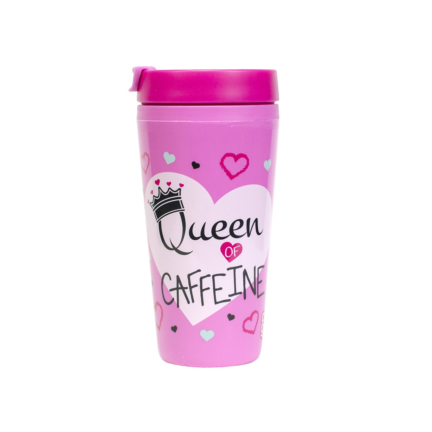 ba017b4b40c Light Pink / Queen Caffeine Callisto 16 Oz Printed Coffee Mug at Cool Gear  Coffee Tea