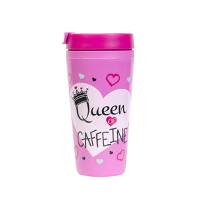 Light Pink / Queen Caffeine Callisto 16 Oz Printed Coffee Mug at Cool Gear Coffee Tea,Travel Mugs