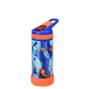 Dark Blue / Rockets System 16 Oz Printed Water Bottle at Cool Gear Kids,Water Bottles