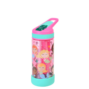 Light Pink / Mermaid System 16 Oz Printed Water Bottle at Cool Gear Kids,Water Bottles