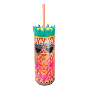 Light Orange / Pineapple Girl 16 Oz Pineapple Can at Cool Gear Coolgearcans