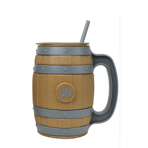 Brown/Gray 40 Oz Whiskey Barrel Mug at Cool Gear St. Patrick's