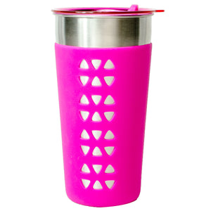 Pink Simplicity 26 Oz Tumbler With Sleeve at Cool Gear Tumblers,Stainless Steel