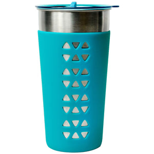 Aquamarine Simplicity 26 Oz Tumbler With Sleeve at Cool Gear Tumblers,Stainless Steel