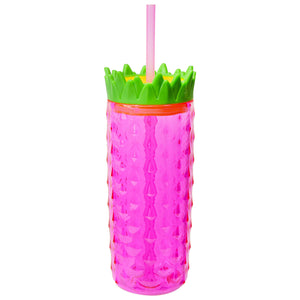 Bright Pink 18 Oz Pineapple Tall Boy at Cool Gear Tumblers