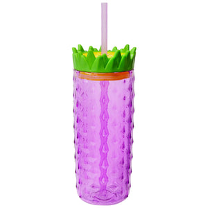 Light Purple 18 Oz Pineapple Tall Boy at Cool Gear Tumblers