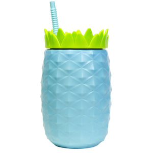 Light Blue 64 Oz Oversized Pineapple at Cool Gear Tumblers