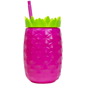 Bright Pink 64 Oz Oversized Pineapple at Cool Gear Tumblers