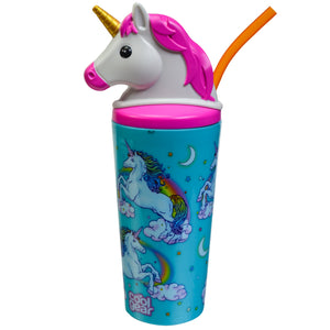 Dark Blue Unicorn 18 Oz Tumbler at Cool Gear Tumblers