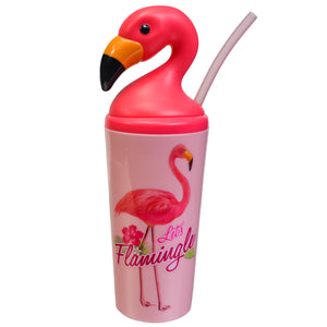 Light Pink / Let'S Flamingle Flamingo 18 Oz Tumbler at Cool Gear Tumblers