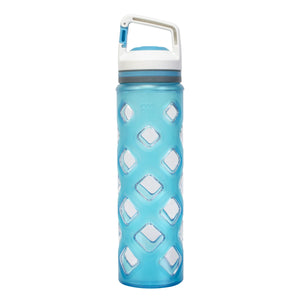 Blue Block 22 Oz Water Bottle at Cool Gear Water Bottles