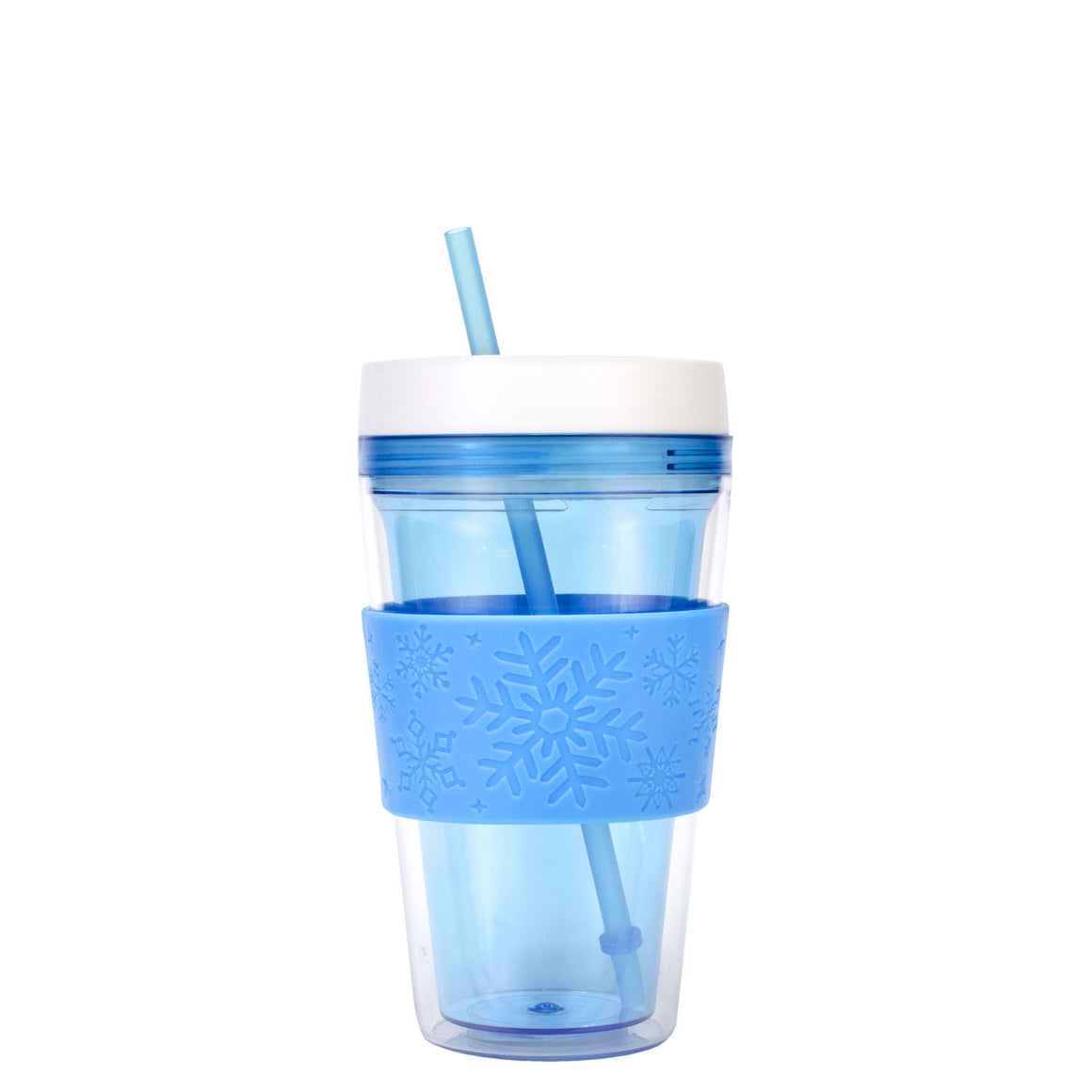 Green 20 Oz Callisto Snowflake Chiller Tumbler at Cool Gear Winter Holiday