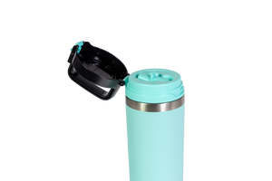 COOL GEAR Niagara 25oz Stainless Steel Water Bottle | Locking lid | Pull up sipper