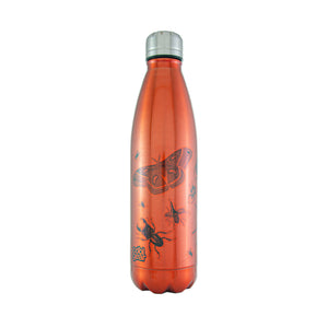 Cool Gear | Apollo 17 Oz Halloween Water Bottle in Orange / Creepy Srawlers