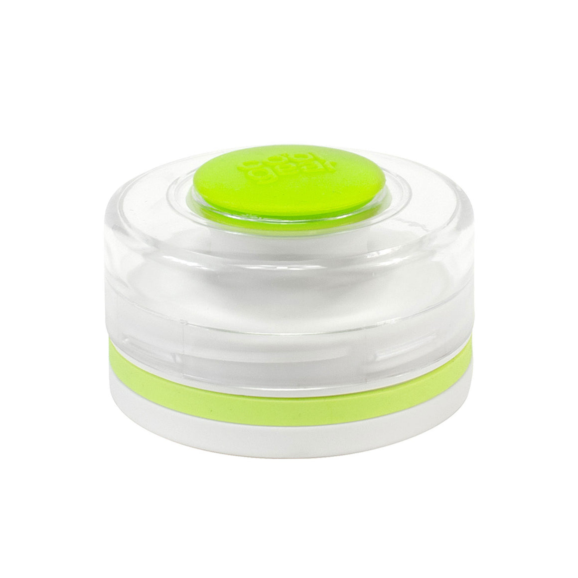 Cool Gear | Replacement Double-Threaded Chugger Cap in White / Lime Green