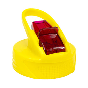 Cool Gear | Replacement Flash Sipper Cap in Yellow / Red
