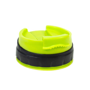 Cool Gear | Replacement Overmold Cap in Lime Green / Black