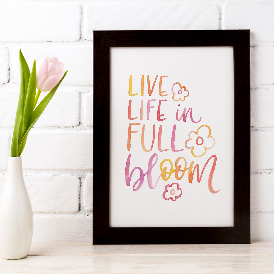 Full Bloom... Downloadable Print