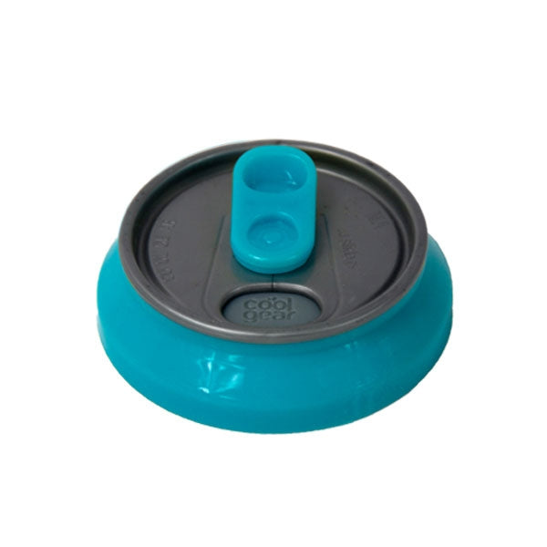 Coolgearcan lid in blues, greens, pink, purple, orange, gray at Cool Gear Accessories