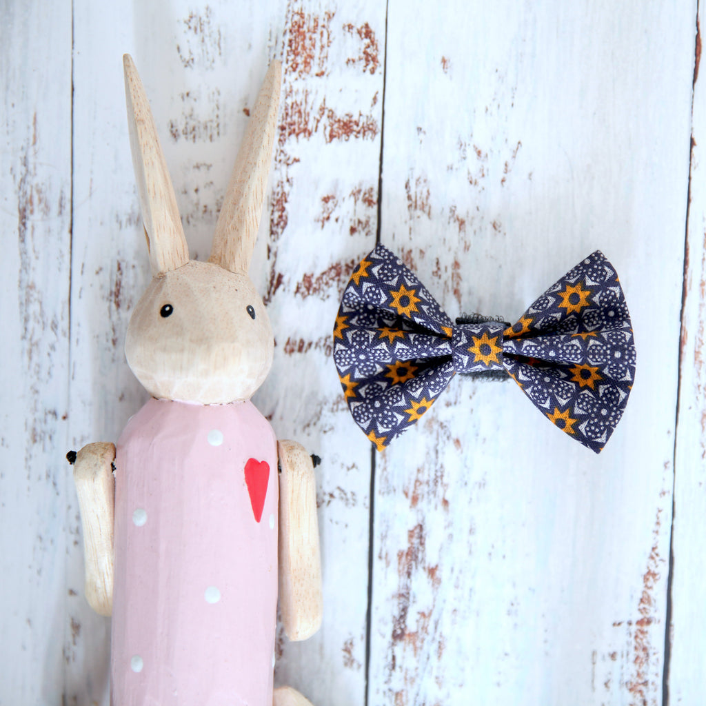 African Sky Dog Bow Tie - Pipps by Pippa