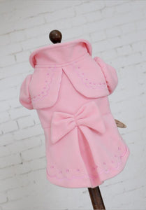 Soft Pink Classic Dog Coat - Pipps by Pippa