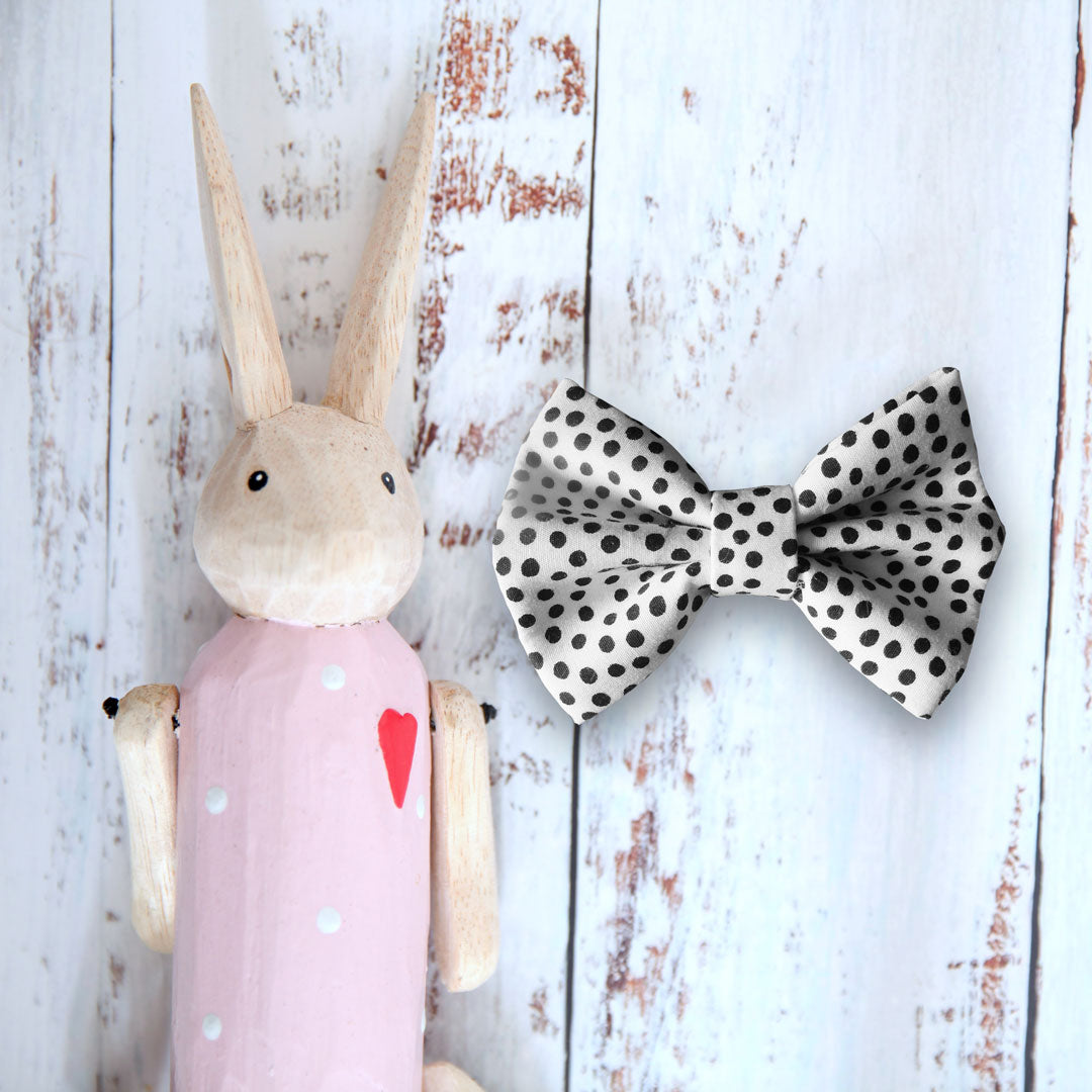 Domino Dog Bow Tie - Pipps by Pippa