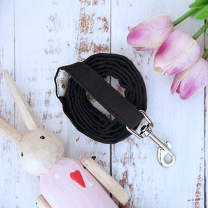 Onyx Dog Lead - Pipps by Pippa