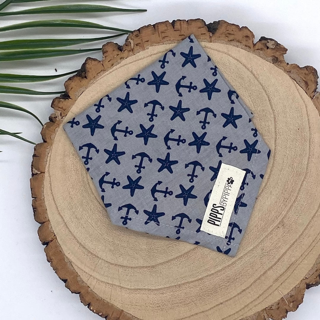 Nautical Dog Bandana - Pipps by Pippa