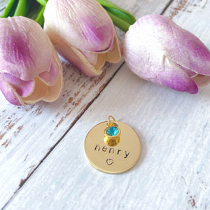 Gold Pet Tag - Pipps by Pippa