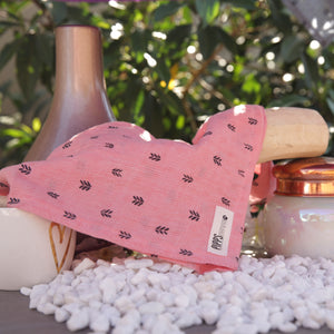 Pink Chevron Dog Bandana - Pipps by Pippa