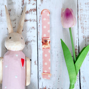 Pink Freckles Dog Collar - Pipps by Pippa