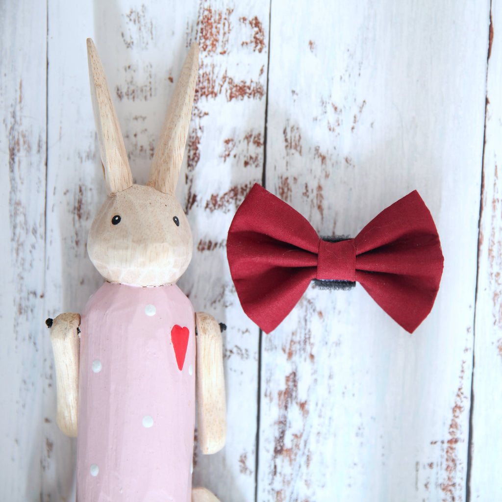 Pinotage Dog Bow Tie - Pipps by Pippa