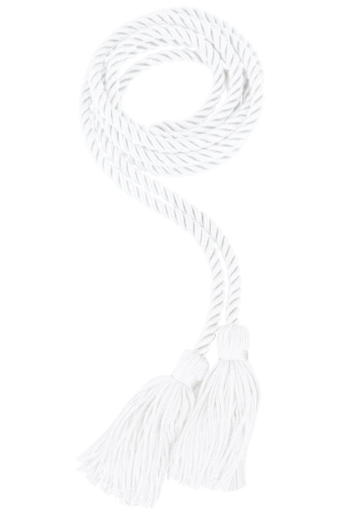 Cordón de honor blanco de secundaria