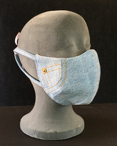 Light denim mask