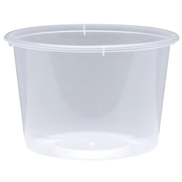 Clear round mixing Tub