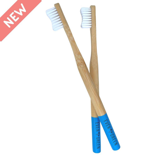 Evergreen Bamboo Toothbrushes - Ocean