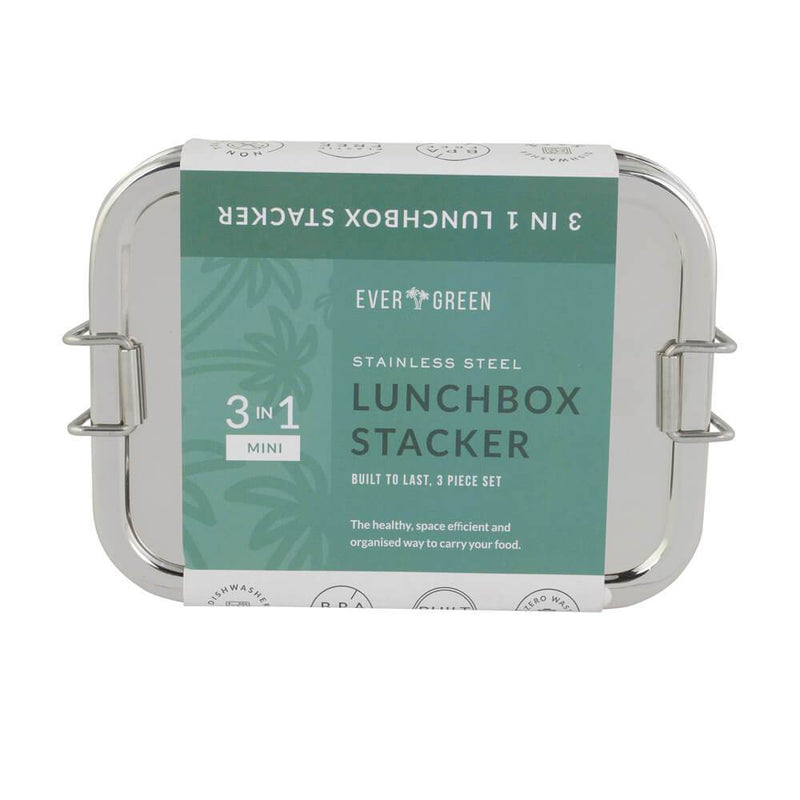 Evergreen 3-in-1 Lunch Stacker