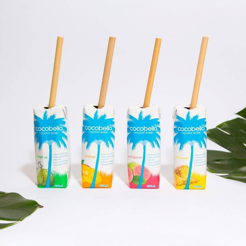 Reusable Bamboo Straw - 20cm