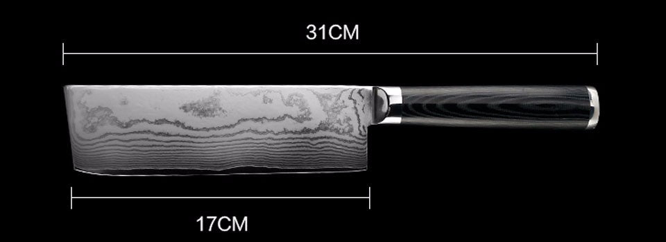 "6.5"" Damascus Steel Chef's Knife"