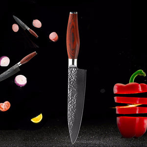 "8"" Damascus Steel Chef's Knife"