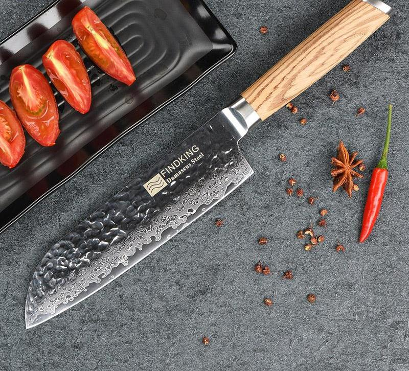 "7"" Santoku Chef's Knife"