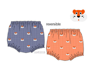 Tiger Reversible Unisex Bloomers