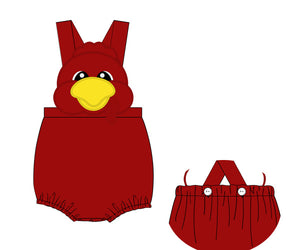 Special Order- Cocky Mascot Sunsuit