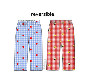 BB Collection: Reversible Bus and Apple Pants