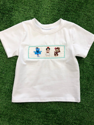 Aladdin Inspired BOY Smocked Tee
