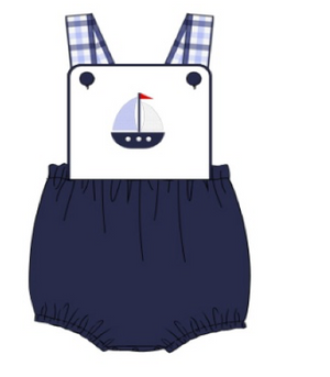 Resort: Sailboat Unisex Sunsuit