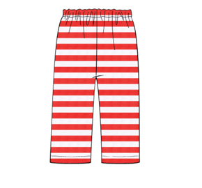 Red Knit Boy Pant