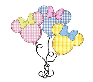 Minnie Balloon Applique