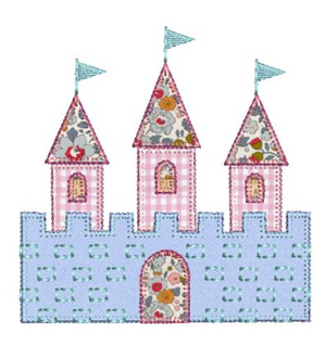 Applique Add On: Castle Applique